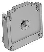 Image of Econofrost 9000 Series Allen key mounting bracket