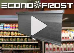 Video of ECONOFROST Night Curtain Grocery Application