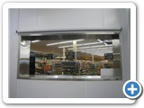 Electric Blinds Installed in Meat OPrep Room