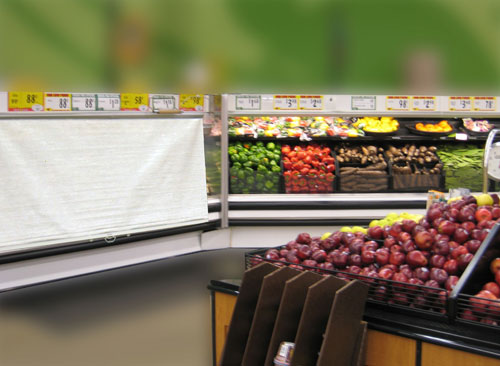 Image of produce display night cover