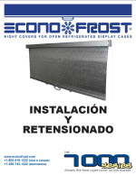 7000 series night cover installation instructions spanish