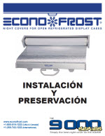 9000 series night cover installation instructions spanish