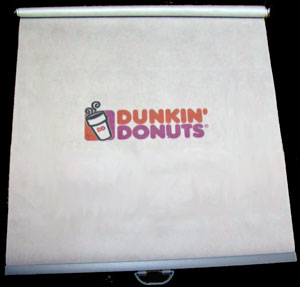 Image of dunkin donuts night cover logo