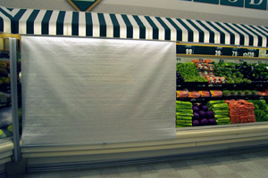 Image of Grocery Store Produce Showcases