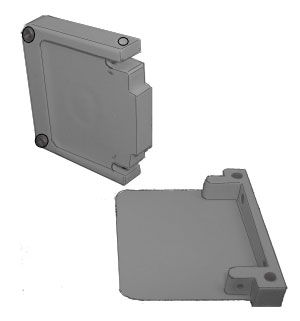 Image of Econofrost 5000 Series 2 Piece End Cap